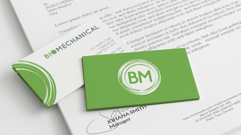 Brochures, stickers, business cards